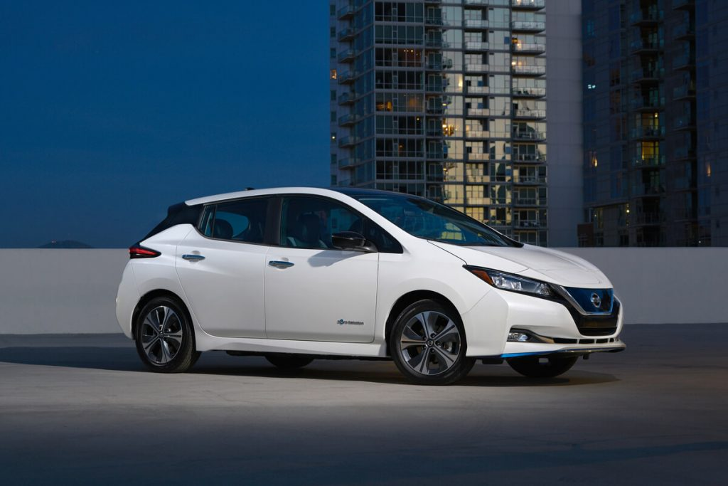 Nissan leaf plus 2019