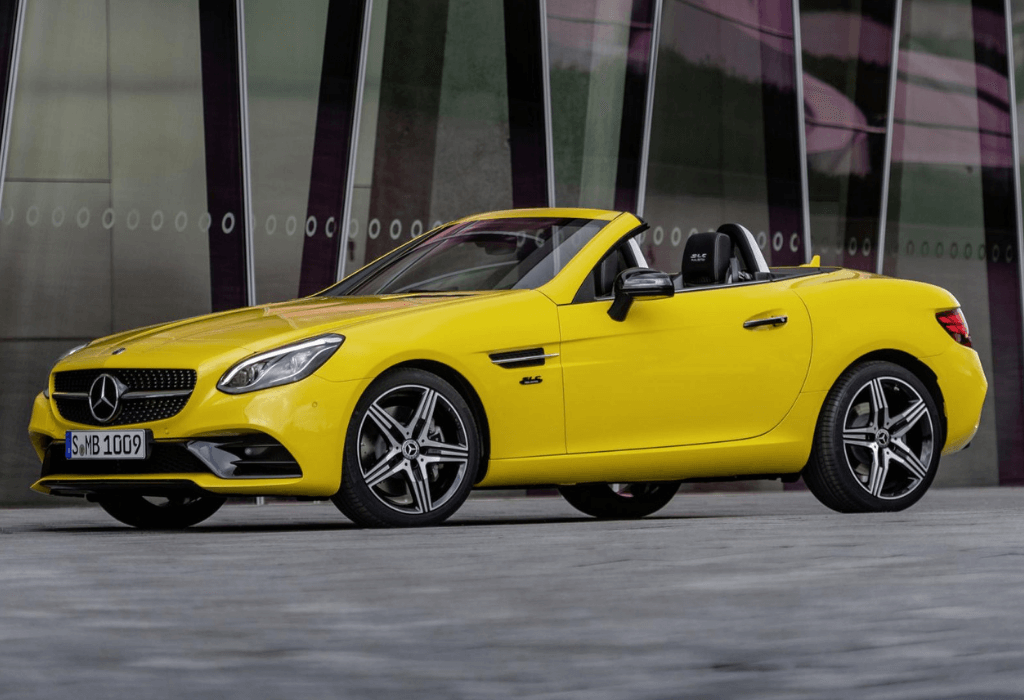 Mercedes-Benz SLC 2019