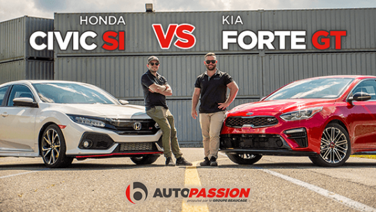Kia forte gt vs honda civic si autopassion thumbnail 2