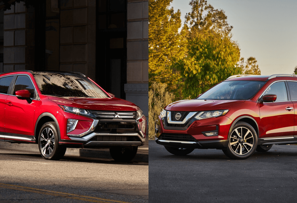 Mitsubishi Outlander 2019 VS Nissan Rogue 2019 : lequel choisir ?